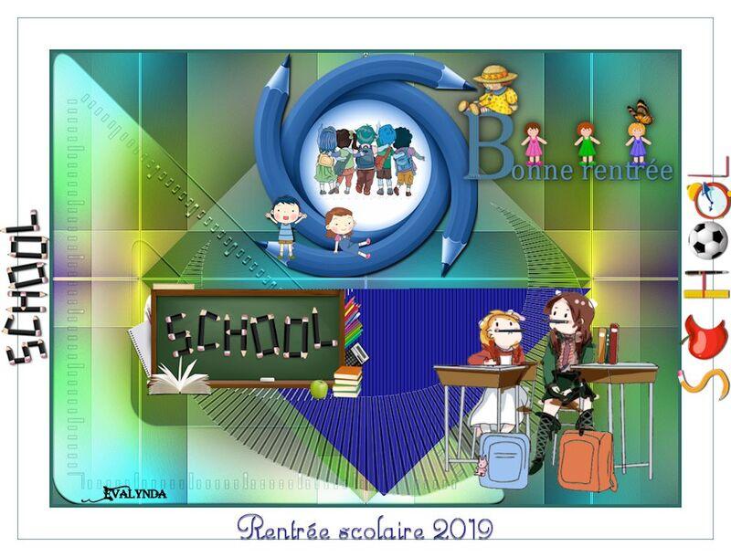 Rentrée scolaire 2019
