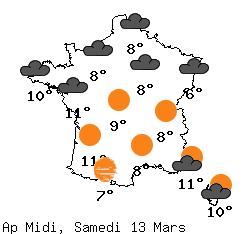 météo en France