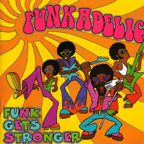 "Funkadelic : CD "" Funk Gets Stronger "" Recall Records SMD CD 287 [ UK ]"