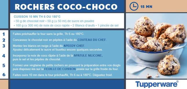 Rochers coco chocolats