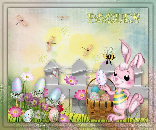 Scrap de Pâques
