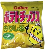 Calbee chips norishio