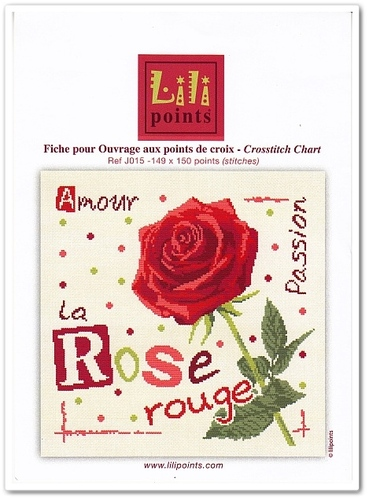 La Rose Rouge de Lilipoints