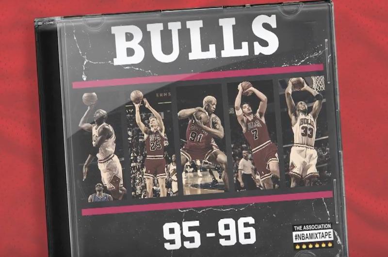 [Mix] Les highlights des Bulls de la saison 1995/96
