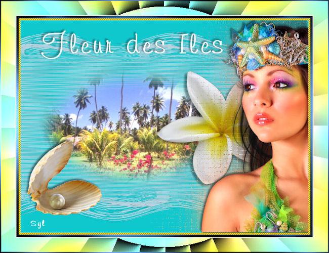 """Belle image """"fleur des îles"""""""