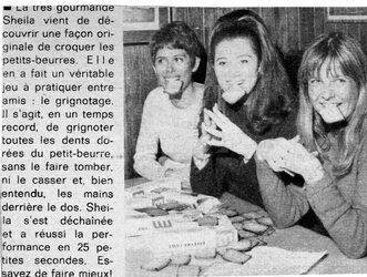 Mai 1967 : Sheila petite beurette.
