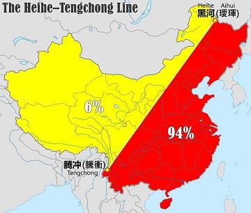 Le peuplement de la Chine ...