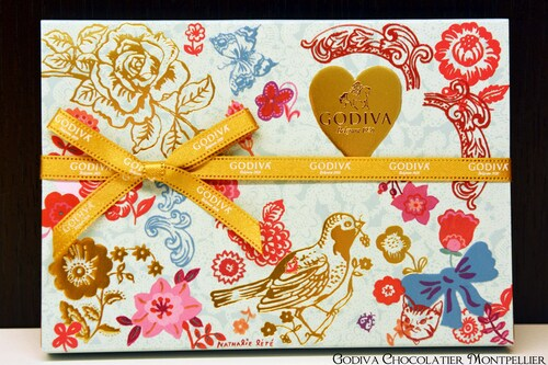 Collection Nathalie Lété Saint Valentin 2014 | Godiva Chocolatier Montpellier