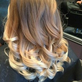 Image de hair, blonde, and ombre