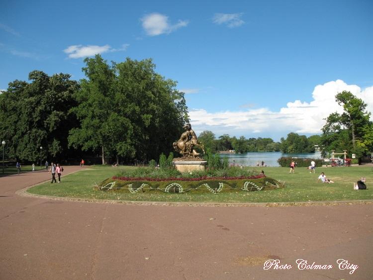 Lyon (69): Parc de la Tête d'Or 1/ 4
