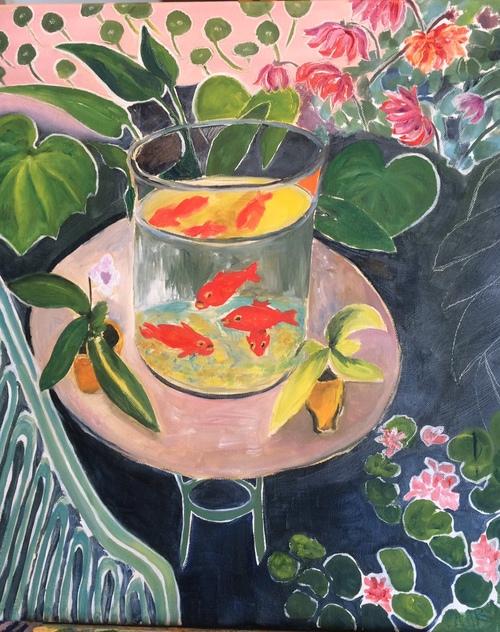 Un Matisse en étude
