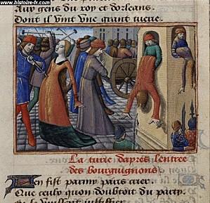 massacres dans paris 1418 vigiles de charles VII