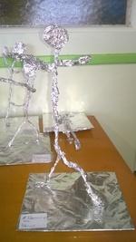A la manière de Giacometti !