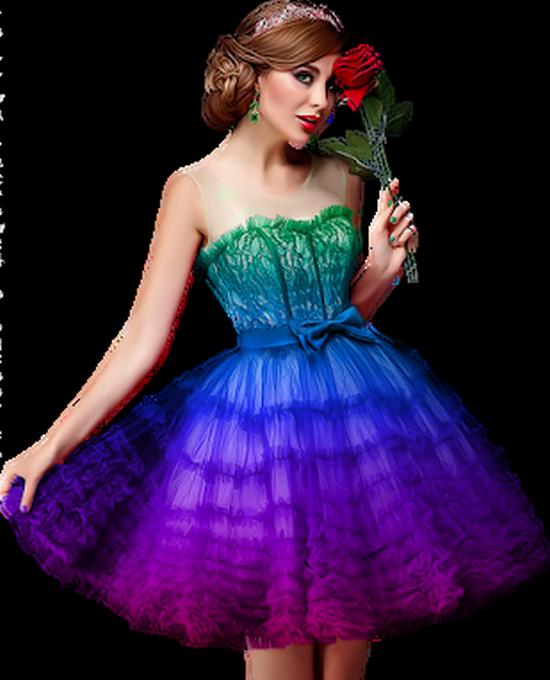 Tubes Femme Multi Colors