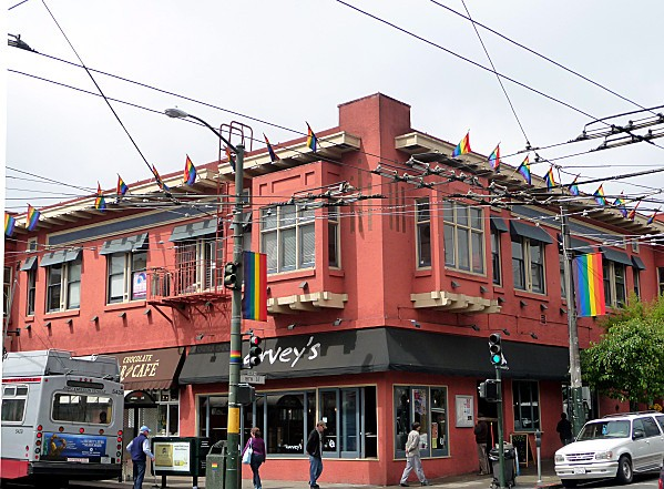 San Francisco Castro Maison rouge
