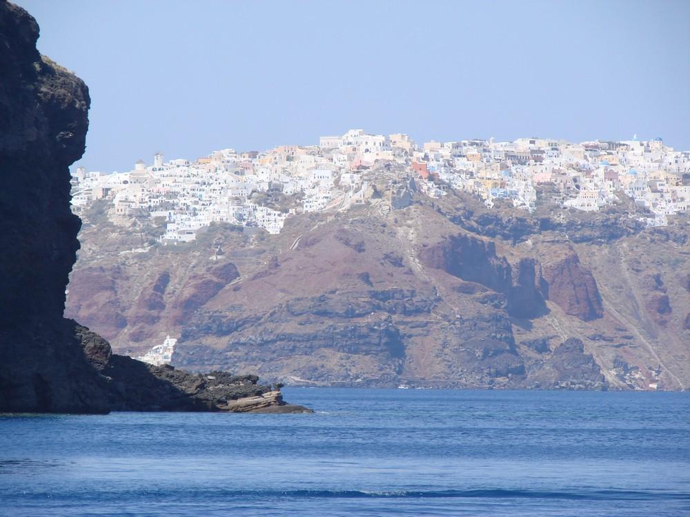 Revenir à Santorin...