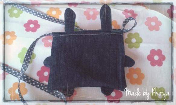 Mini sac lapin
