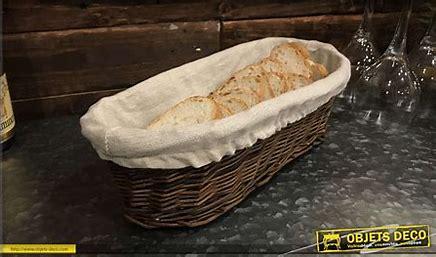Résultat d'images pour panier en forme de paillasse pour mettre le pain