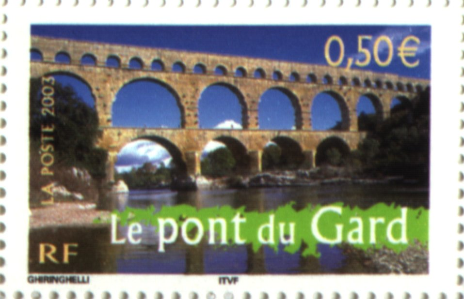 timbre du pont du gard