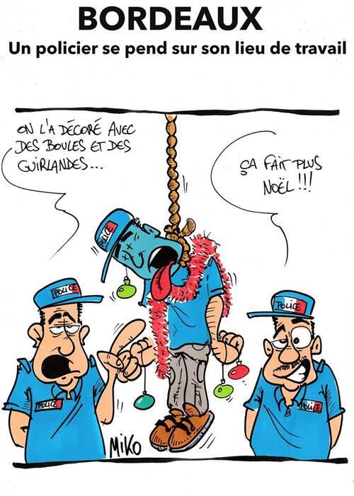 Un policier se pend à Bordeaux