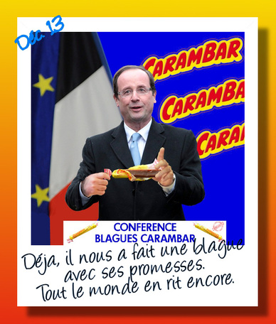 Hollande blague