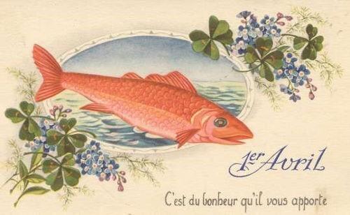 poisson d'avril bonheur