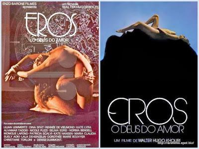 Эрос, бог любви / Eros, O Deus do Amor.