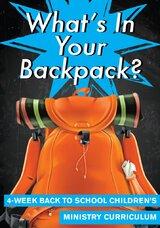 Contenu de votre sac à dos Curriculum de ministère des enfants de 4 semaines
