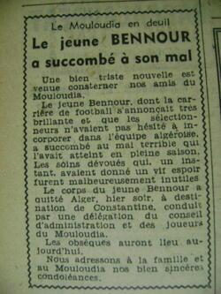 BENNOUR 1951