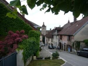 Orgelet - Ville natale de Cadet Roussel