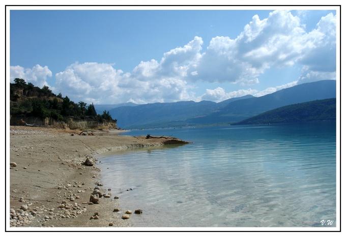 Le lac de Sainte-Croix