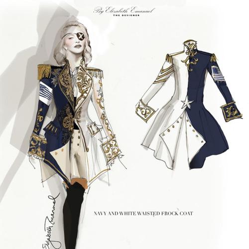 Honi Soit Qui Mal Y Pense - Le costume anglosaxon de Madonna