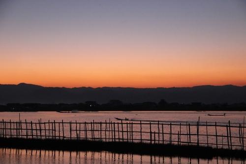 En bateau sur le lac Inle