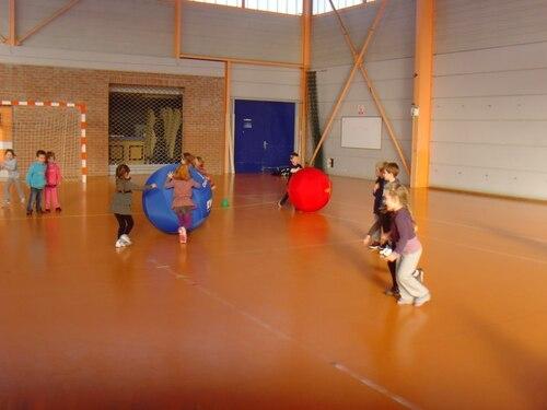 Kin-ball - séance 2