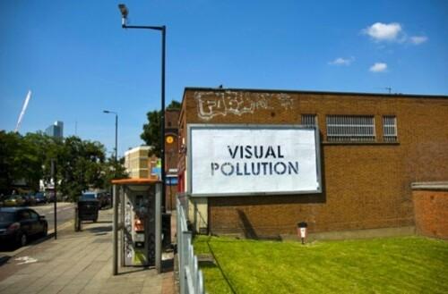 Mobstr visual pollution