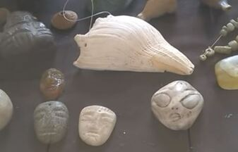 Artefacts du Mexique.