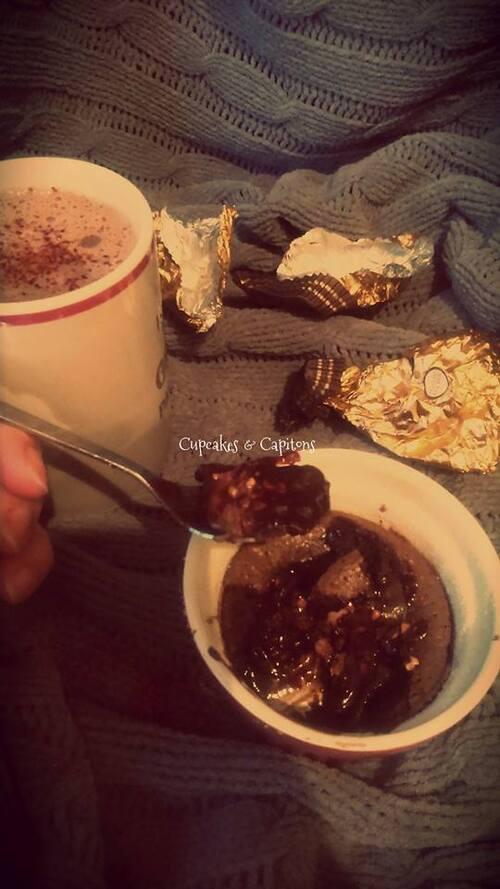 moelleux chocolat  pimenté pour le #défi0.0chut