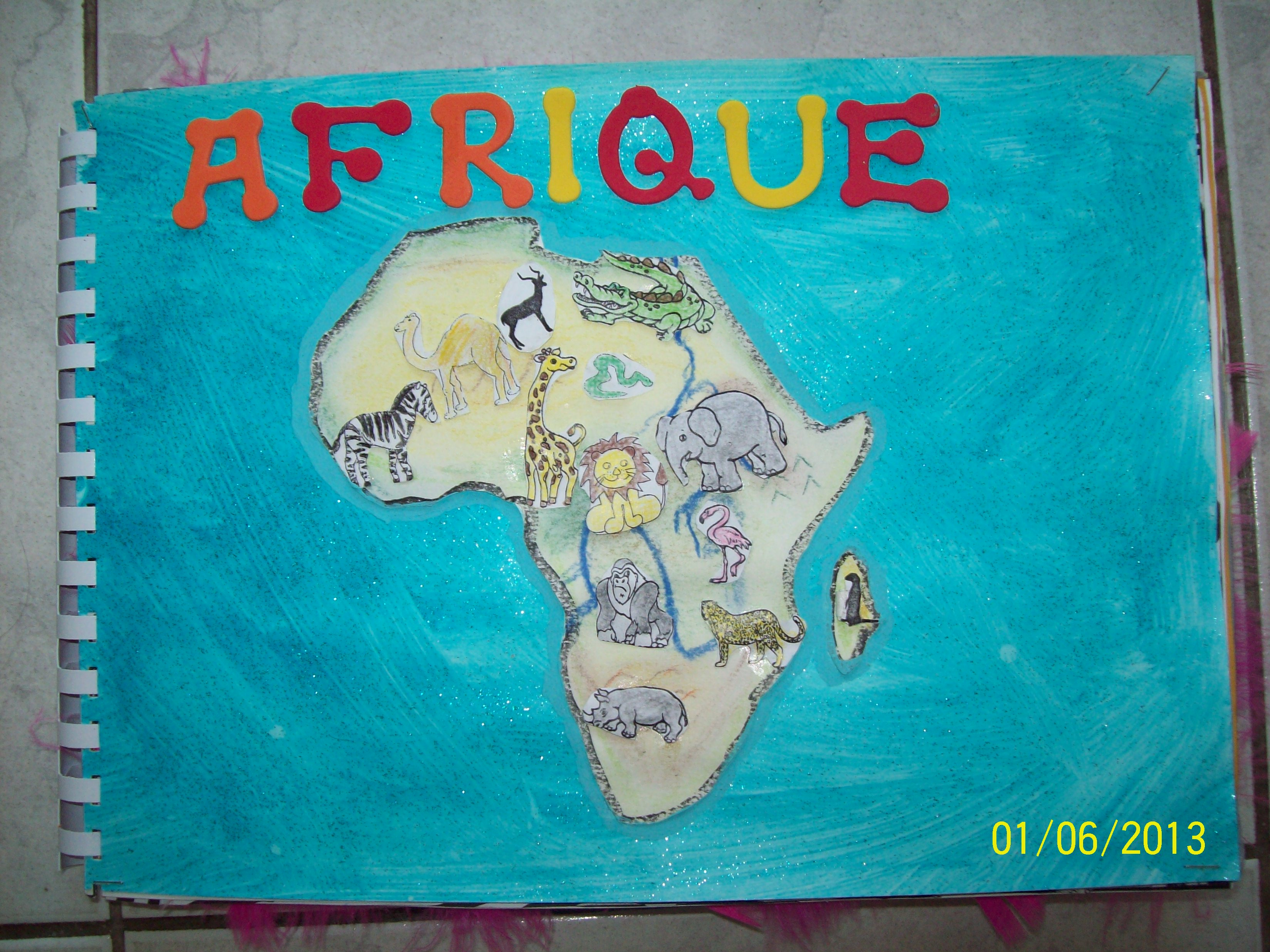 Album compter sur les animaux d 39 afrique la classe de wjl - Animaux afrique maternelle ...