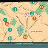 Plan simplifié pour un dépliant de la ville de Verrières-le-Buisson (détail)