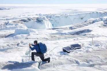 Fonte du Groenland ...