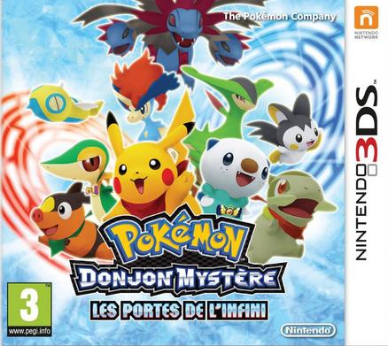 Jaquette Pokémon Donjon Mystère : les portes de l'infini (PMD4)