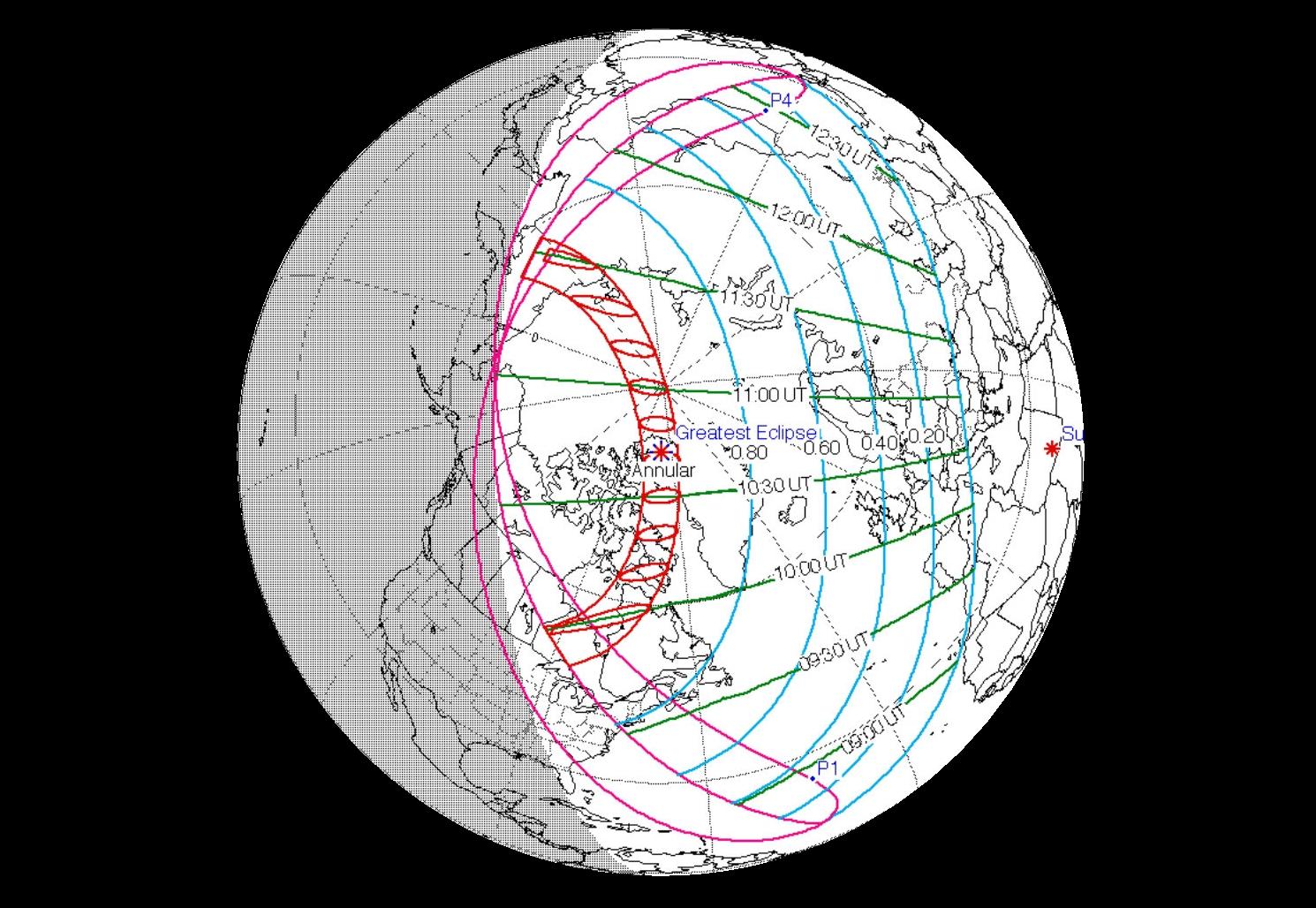 éclipse de Soleil 10-06-2021