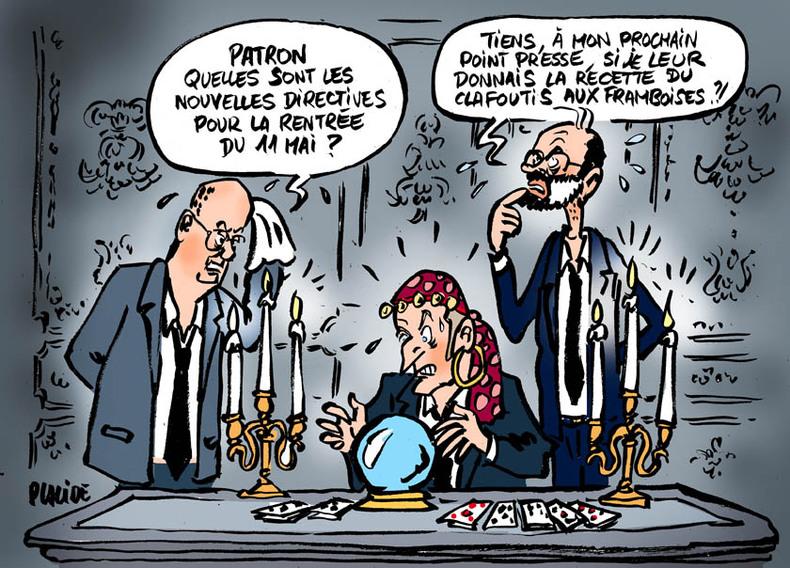 Communication chaotique entre l'Élysée et Matignon