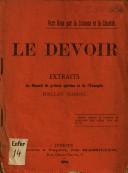 Société spirite Les Vignerons du Seigneur - Le Devoir (1900 ou avant)