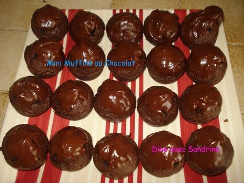 Des Mini Muffins au Chocolat selon Christophe Felder