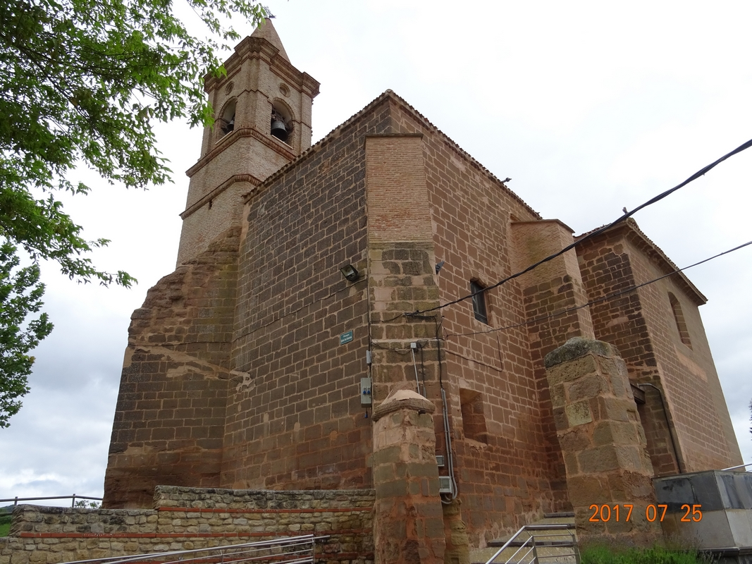 26 juillet: Logroño - Nájera, 30 Km - 2