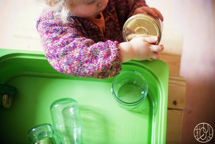 Atelier Montessori - Visser et dévisser