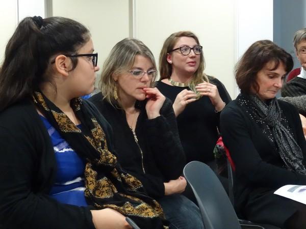 """""""Passages, redevenir parent"""", clôture des ateliers sur la parentalité lors de la soirée du 4 décembre 2015"""