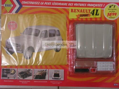 N° 1 Construisez la Renault 4L Export - Test