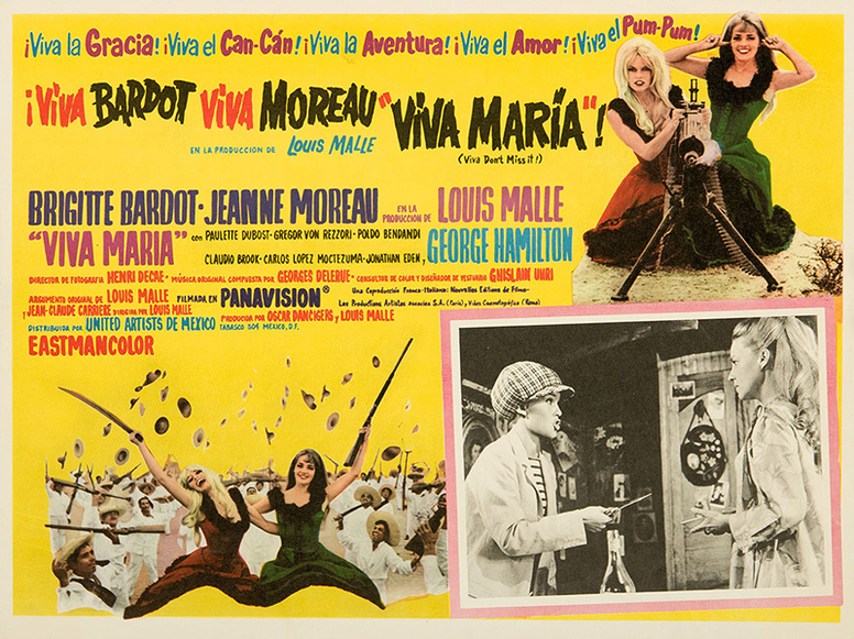 VIVA MARIA - BRIGITTE BARDOT BOX OFFICE 1965